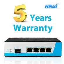 48 Hours Aging Test industrial 4 ports 1000m industrial ethernet poe switch for security with sfp Port