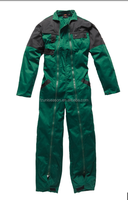 Green coverall for men