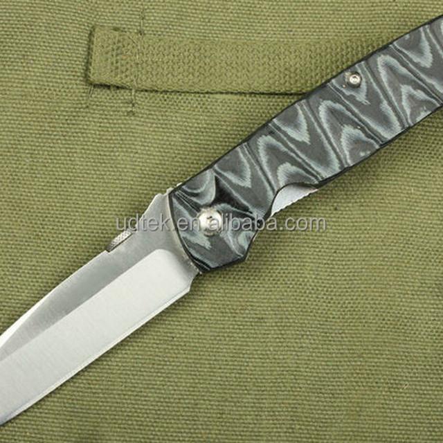 OEM Micarta Handle Folding Knives Unique Knife UDTEK01445