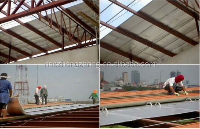 List manufacturers of heat resistant roof material buy for Fire resistant roofing