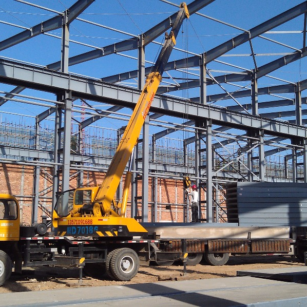 Top Quality Prefabricated Steel Structure Workshop Metal frame industrial building