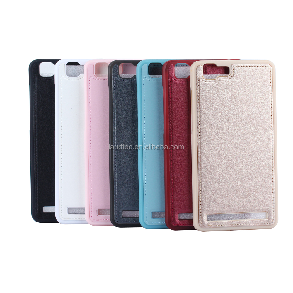 Lichee pattern pu leather back cover for Vivo X5 Max,TPU leather back cover for Vivo X5 Max