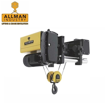 ALLMAN M5 IP54 mining hoist usage and wire rope sling type electric hoist