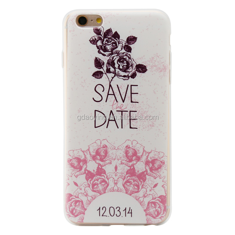 high quality custom sublimation painting on phone case for iphone 5 5s 6 6s