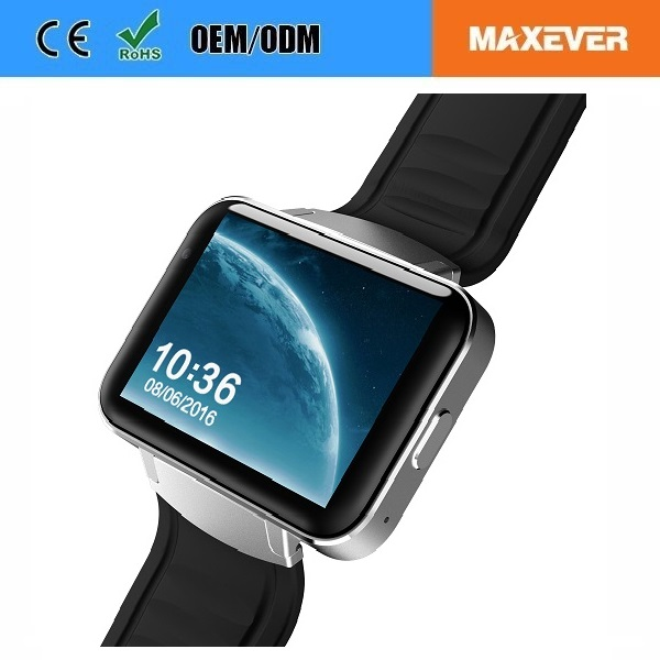 "900mAh Big Battery 2.2"" IPS Screen 3G WiFi GPS DM98 Android Hand Watch Mobile Phone"