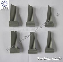 Investment Vacuum Casting Superalloy Turbine Blade Used For Locomotive Turbo