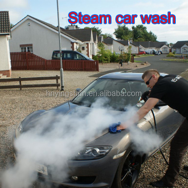 2015 CE no boiler 18 bar 2 hoses mobile diesel steam cleaner/STEAMER CAR WASH