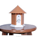 Amazon Bestseller Ultrasonic Outdoor Bark Control Birdhouse