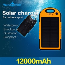 New arrival outdoor use 12000mah smart charger for mobile phone