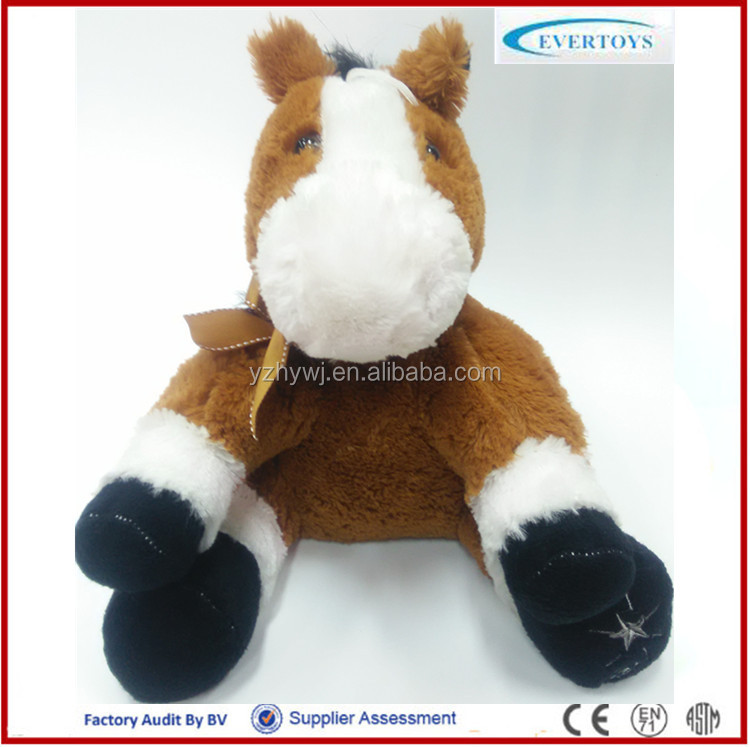 wholesale minion plush soft large toy brown horse