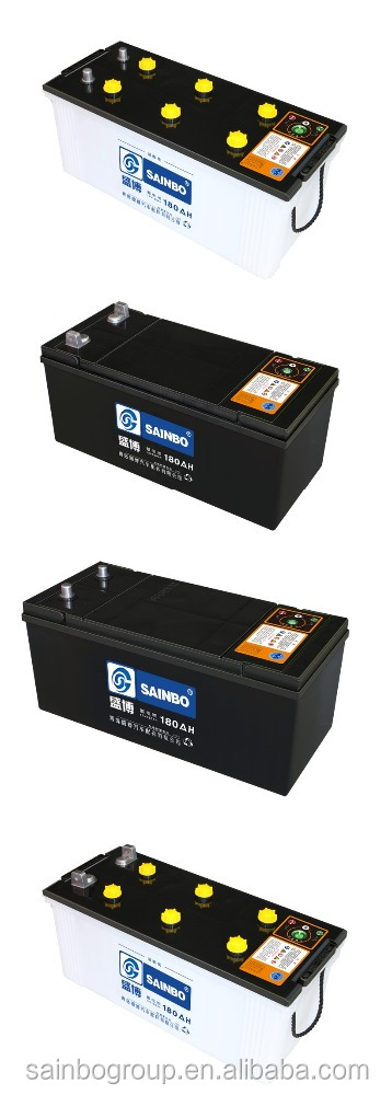 Popular bottom price hybrid car battery battery for auto car 12v180A