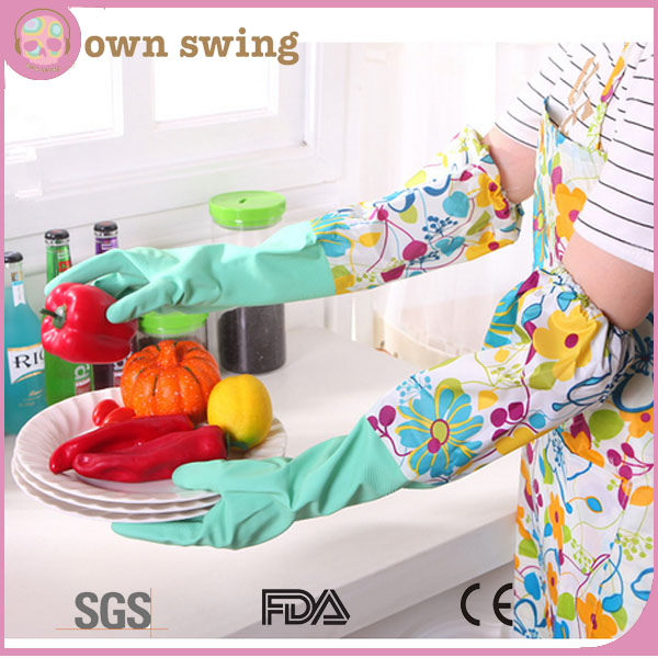 Multi-purpose WaterProof Non-slip Gloves For Doing Dishes/Washing/Cleaning Rubber Latex Household Gloves