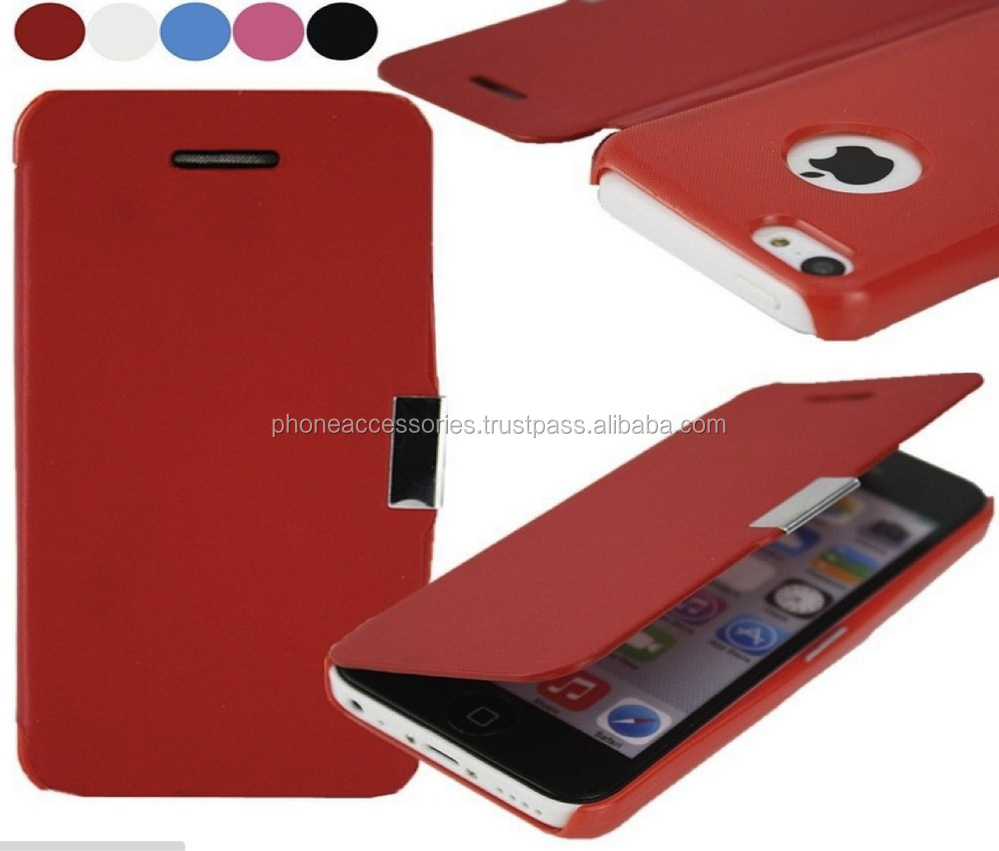 Stylish Colorful Ultra thin wallet leather case cover for iPhone 6, iPhone 5 and iPhone 4 and for Samsung S5 and Note 3
