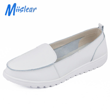 Non-Slip Hospital Medical Shoes, Women White Safety Nurse Shoes
