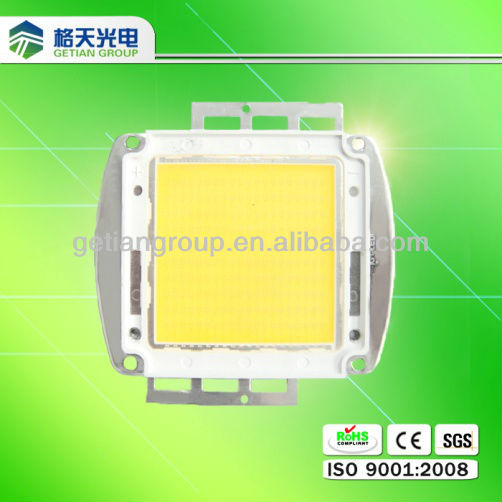 high luminous flux 9000K high power led cob 200 watt