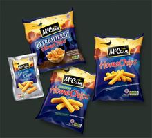 plastic potato chip bags with printed colour