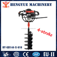 earth auger and portable land digging machines and mini post hole digger