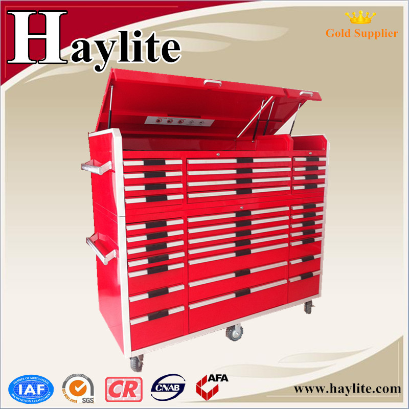 New design steel garage tool cabinet economic workbench
