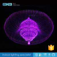 decorative lighting optic fiber Colorful Decorative Plastic Optical Light Fibers Sparkle Optic Fiber 2101601