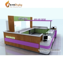 Mall Fast Food Kiosk 3D Ice Cream Kiosk Design With Low Price For Sale