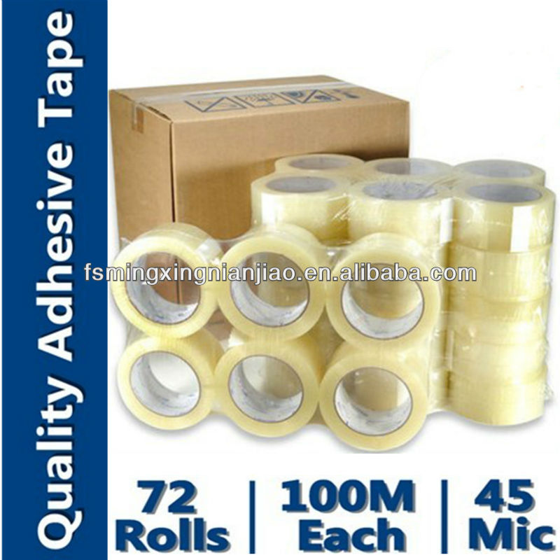 packing tape tile adhesive