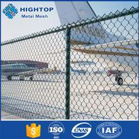 alibaba china diamond shape pvc coated chain link fence (direct factory)