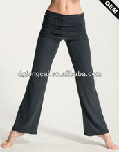 74% Viscose and soft natural plant fiber jazz pants for women