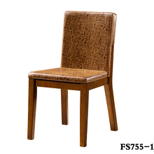 FACTORY PRICE FANSHENG RUBBER WOOD DINING ROOM FURNITURE FOR DINING CHAIR
