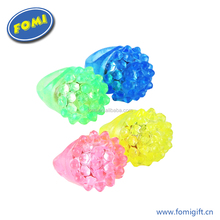 Hot sale board toy light up finger rings flashing led ring