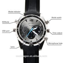 New Concept Wearable Device Portable Waterproof Spy Gadgets HD DVR Recorder IR camera hidden Watch