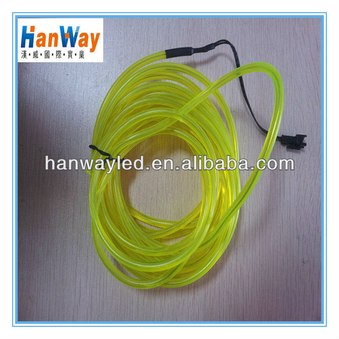 Super brighter Electroluminescent tape EL tape Yellow & EL Wire 12V Inverter
