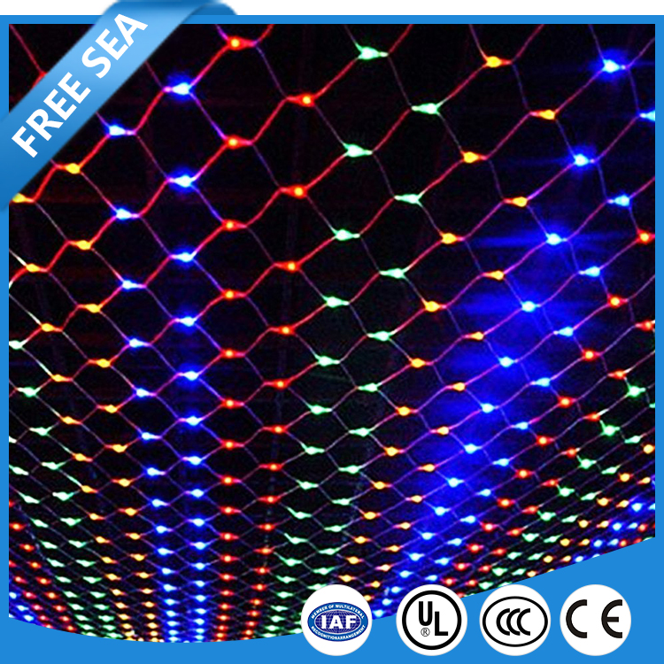 Lawn Decor Twinkle LED Fairy String Net Lights With 8 Modes RGB