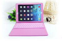 Good quality PU leather bluetooth keyboard for ipad air 2