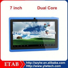 7inch Android OS dual core TFT LCD Screen tablet pc 7 inch android 4.0 1.2ghz 512mb ram 8gb