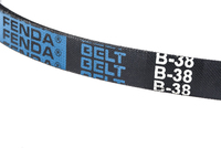 Rubber belt wrapped -belt B-38