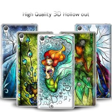 3D Hollow out phone cover case For sony xperia sp M35h and z1 z2 z3 compact all available