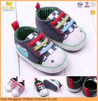 Cute baby canvas shoes soft sole kids safety sports shoes first walk baby shoes