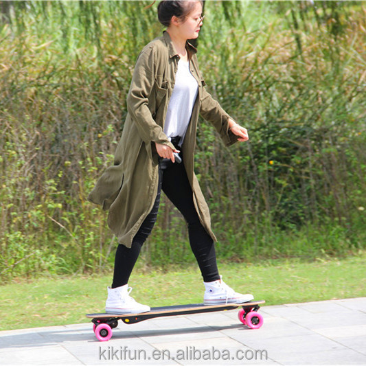 Christmas promotion sale off road SKYBOARD new developed factory price small electric skateboard 800W lithium ion