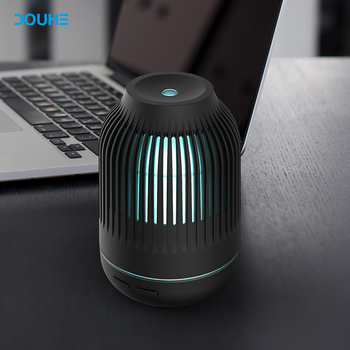 USB Car Electric ultrasonic aromatherapy LED Light essential oil diffuser
