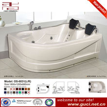 Indoor hot tubs double whirlpool bathtub