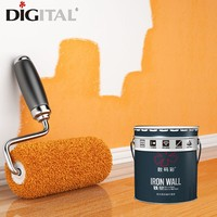 Waterproof environmental wall paint for exterior building