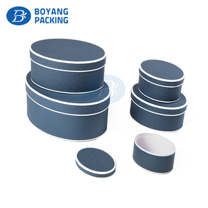 Wholesale China products paper round jewelry storage box