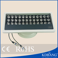 Change color external control dmx 36w 24v led auto light