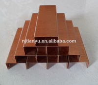 Manufacturing! Pneumatic staples of all sizes Carton fastening nails paper gold a4 copy