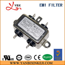 6A General Purpose Single Phase AC Power Line Filter with UL TUV ROHS certificate