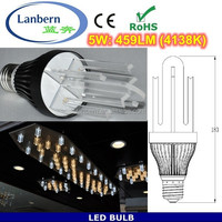 40W Incandescent replacement high lumen 100lm/w dimmable e27 SMD2835 5W led light bulbs canada CE&ROHS