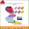 High quality silicone cover for keyboard, keyboard protective film for macbook