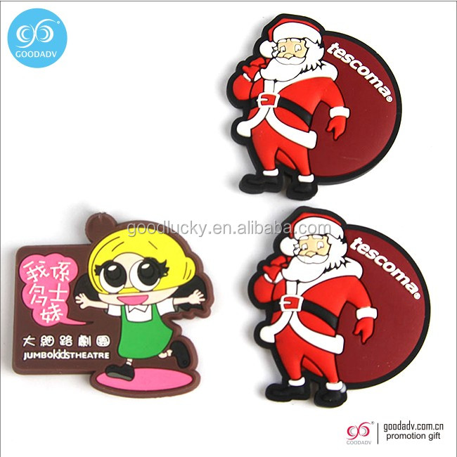 High quality promotional cheap personalized custom 3D fridge magnet