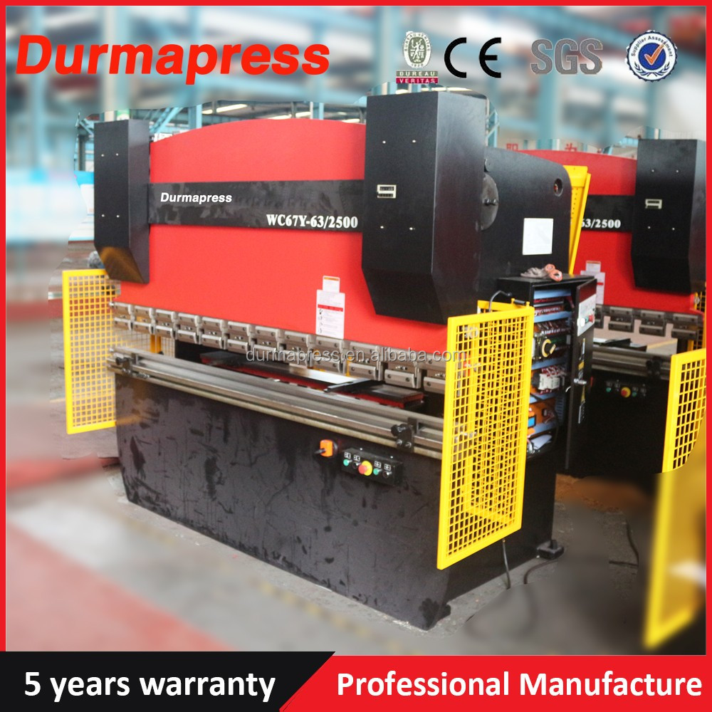 WC67Y-80T/2500mm Hydraulic Press Brake, wire bending machine,sheet metal bending machine with good quality