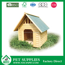 Outside Various Sizes Factory Direct painted wooden dog kennel